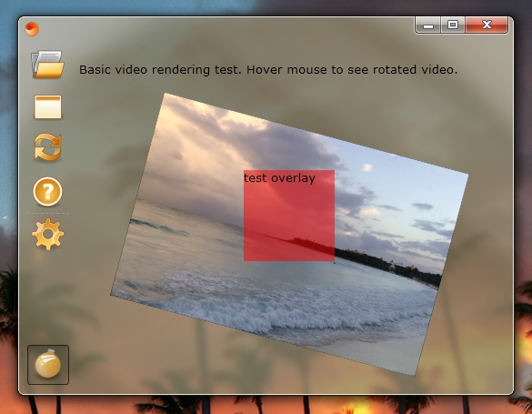 sciter video demo
