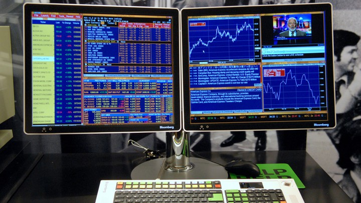 Bloomberg Terminal, how I would do it with Sciter.