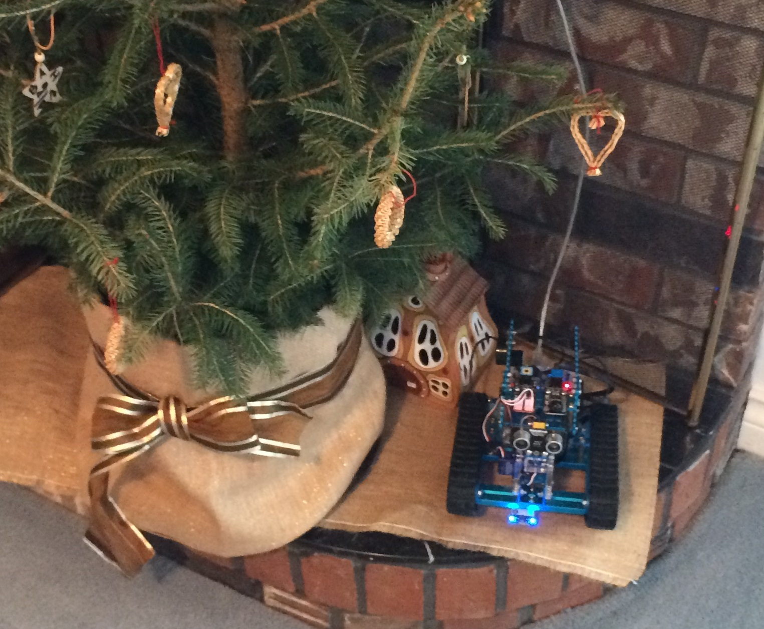 Robot Vasilii this holiday season was …